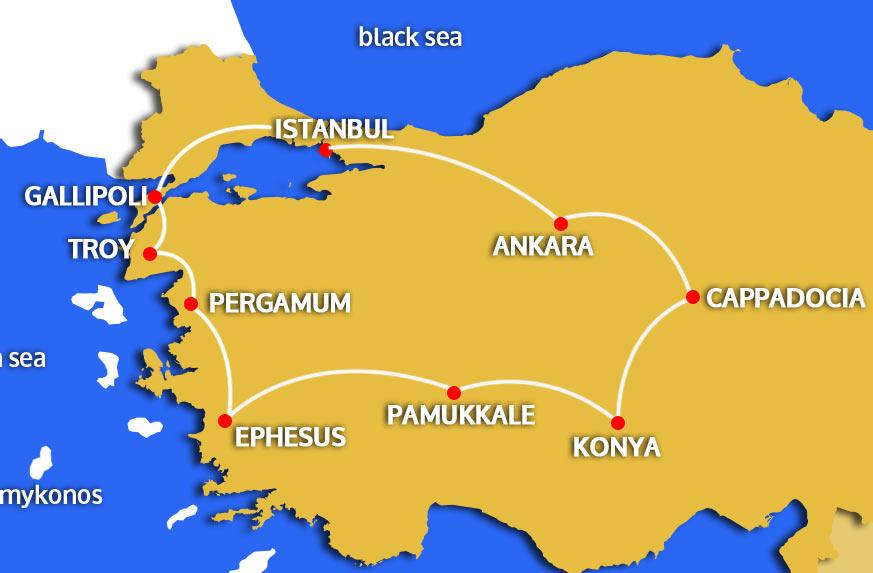 turkey-escorted-tour